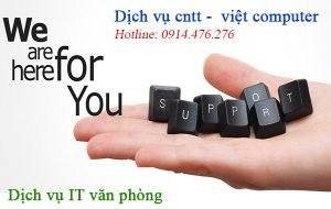 dịch vụ it văn phòng support part time